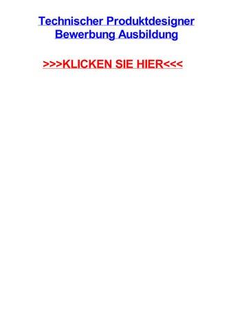 technischer produktdesigner bewerbung ausbildung schwalmstadt hessen themen sachunterricht - Fh Koln Bewerbung
