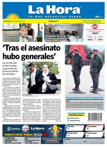 Cotopaxi 20 de junio de 2018 by Diario La Hora Ecuador - issuu e868f2e2e13