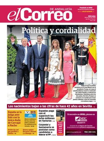 150cd2c91 20.06.2018 El Correo de Andalucía by EL CORREO DE ANDALUCÍA S.L. - issuu