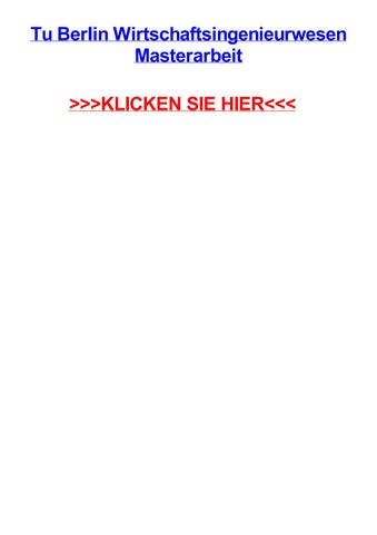 eidesstattliche erklärung dissertation tu berlin