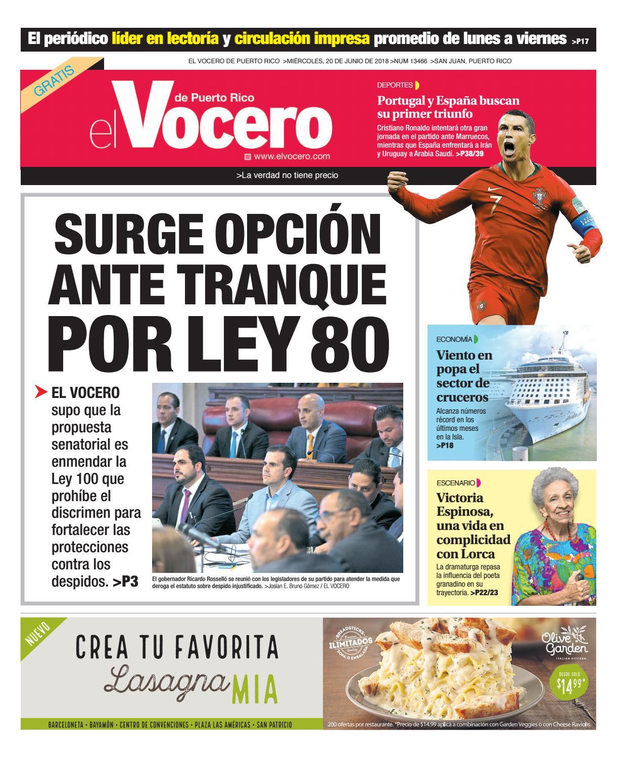 official photos 27837 0503d Edición del 20 de junio de 2018 by El Vocero de Puerto Rico - issuu