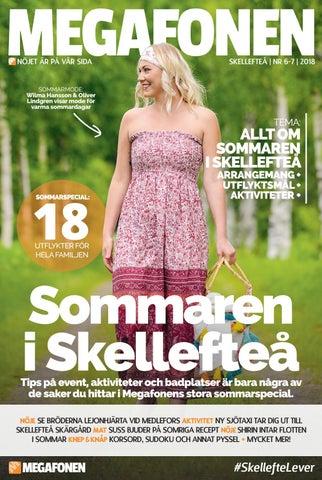 d77e4e54 Megafonentidningen nr 6-7 2018 by Megafonen Skellefteå - issuu