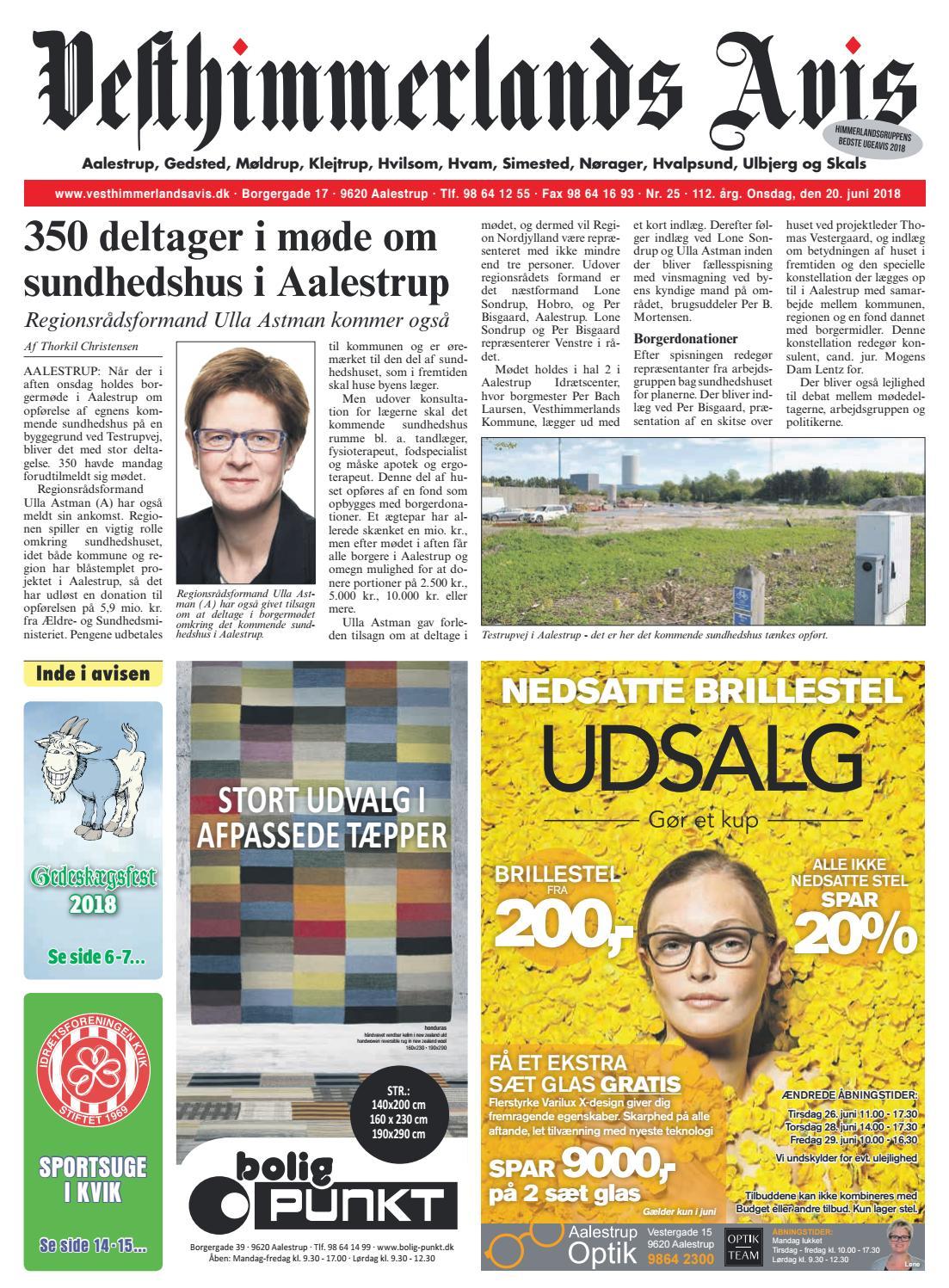 09d8e33271c9 Vesthimmerlands Avis nr. 25 - 2018 by Vesthimmerlands Avis - issuu