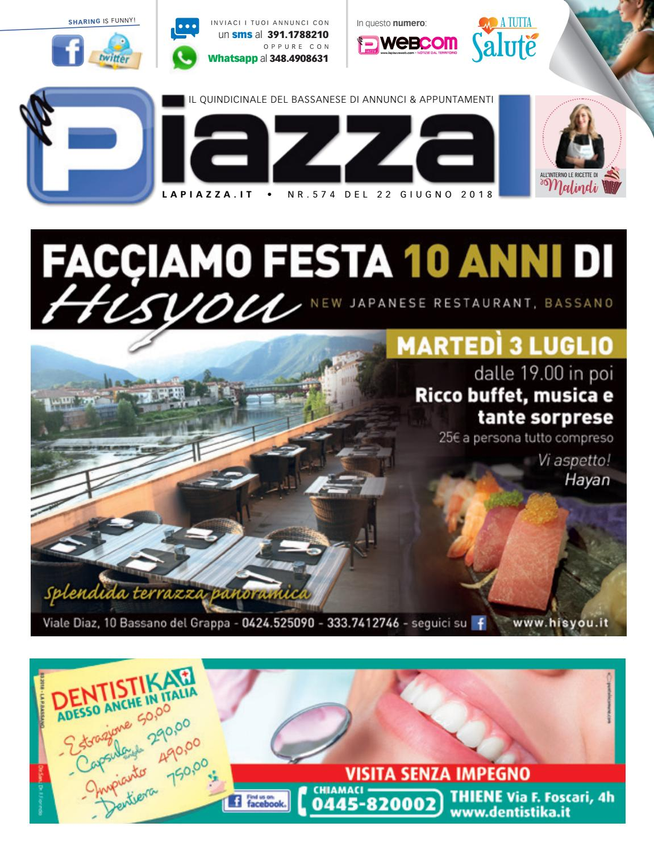 pretty nice 7a483 5360a la Piazza di Bassano 574 by la Piazza di Cavazzin Daniele - issuu