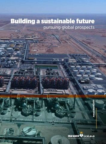 2017 Annual Report English by Maaden - Saudi Arabian Mining Company
