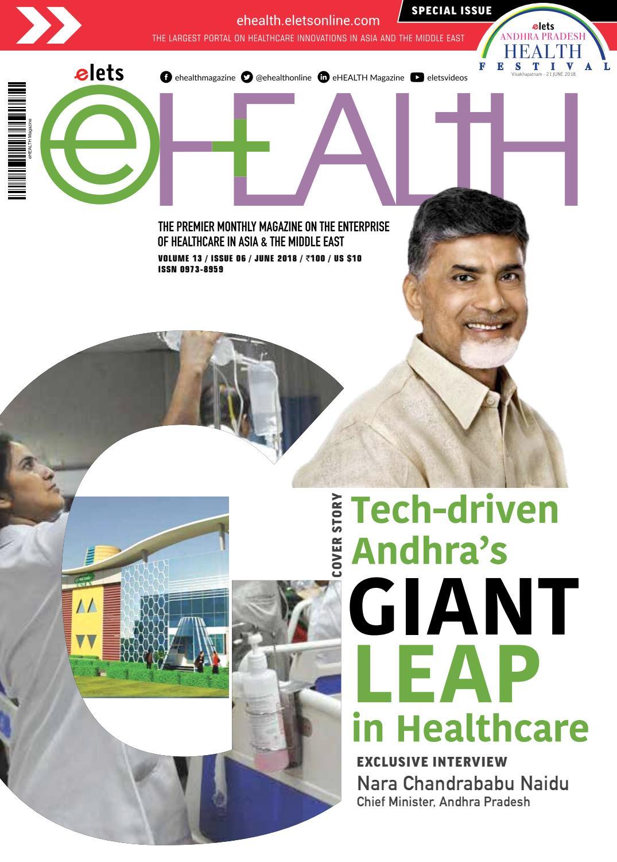 Ehealth June 2018 by eHealth Magazine - Elets Technomedia
