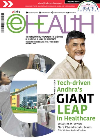 Ehealth June 2018 by eHealth Magazine - Elets Technomedia Pvt Ltd