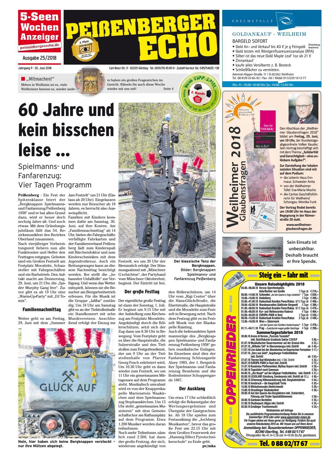 KW 25-2018 by Wochenanzeiger Medien GmbH - issuu