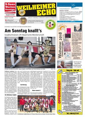 KW 28-2018 by Wochenanzeiger Medien GmbH - issuu