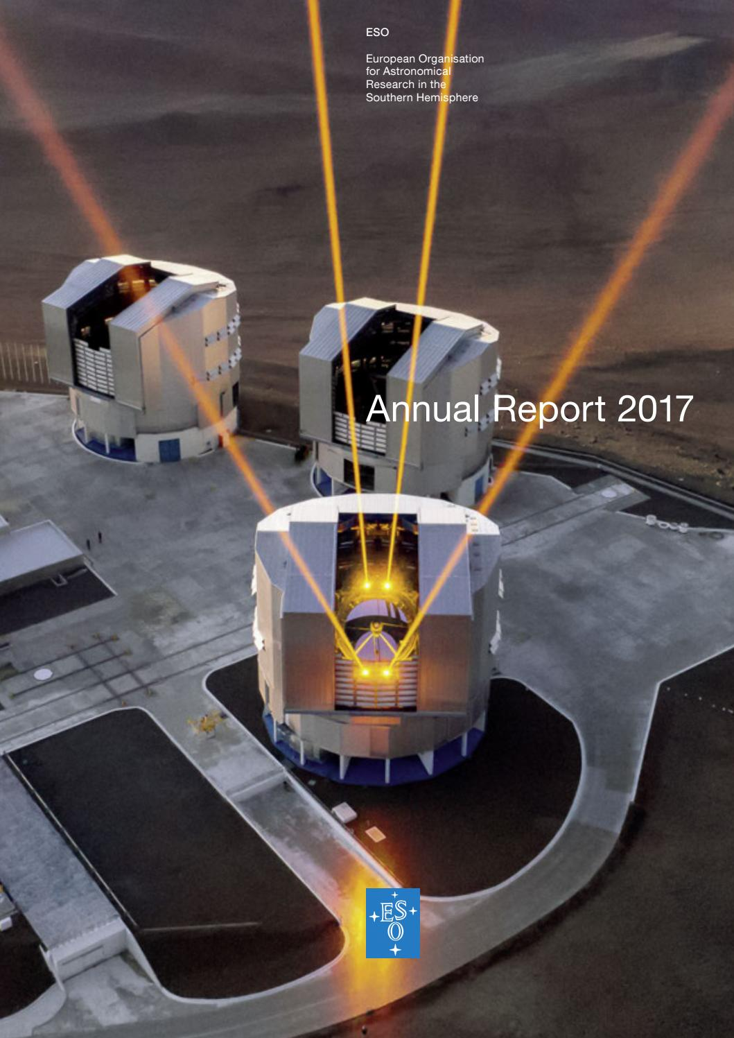 ESO Annual Report 2017 by European Southern Observatory - issuu