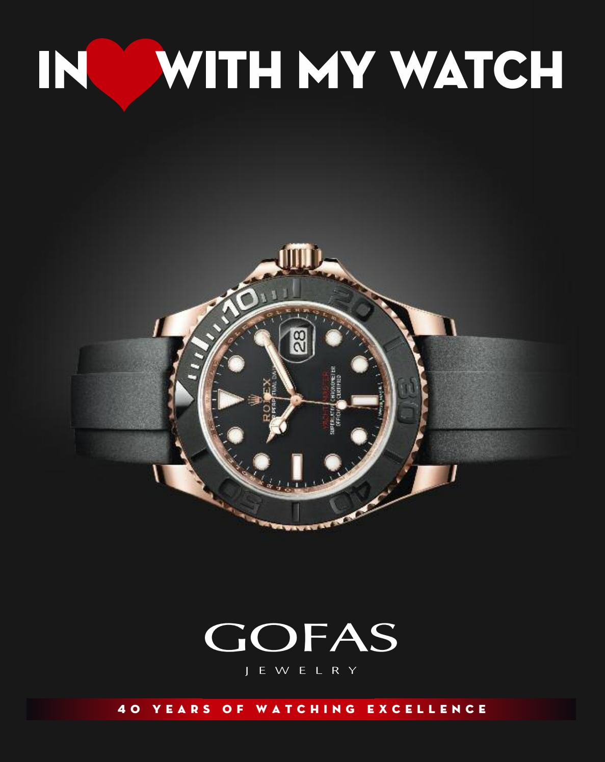 IN LOVE WITH MY WATCH by Gofas Jewelry - issuu 98a32111045
