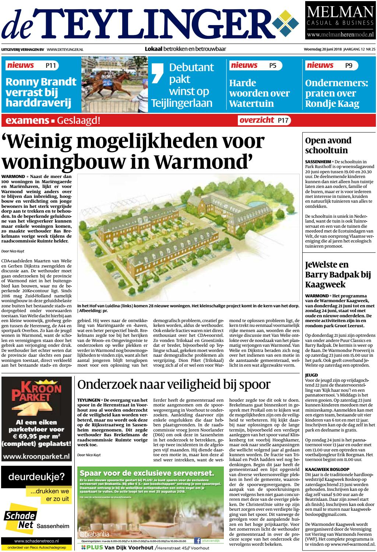 000e3b06a79a31 Tl week 25 18 by Uitgeverij Verhagen - issuu