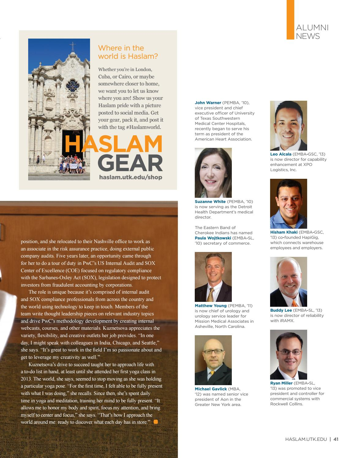 Haslam Magazine - Summer 2018