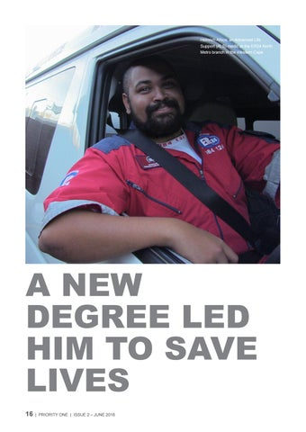 Page 16 of A new degree led him to save lives