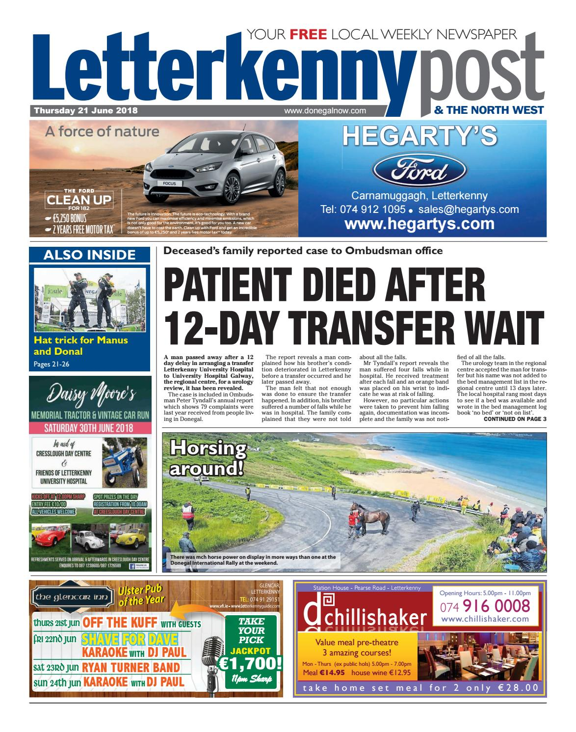 d26c21ab81 Letterkenny post 21 06 18 by River Media Newspapers - issuu