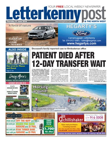 Letterkenny post 21 06 18 by River Media Newspapers - issuu 6920907110634