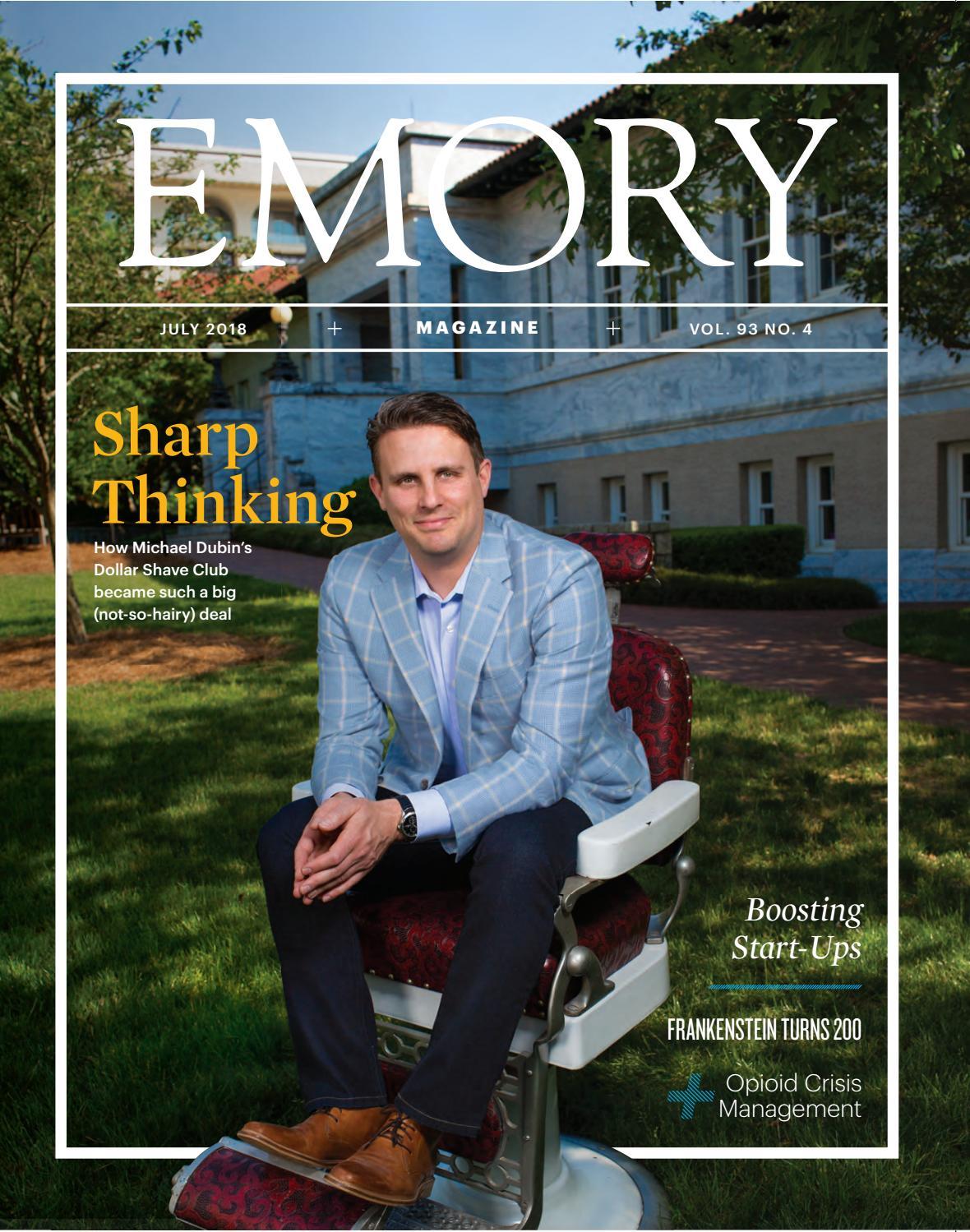 Emory Magazine / July 2018 by Emory University - issuu