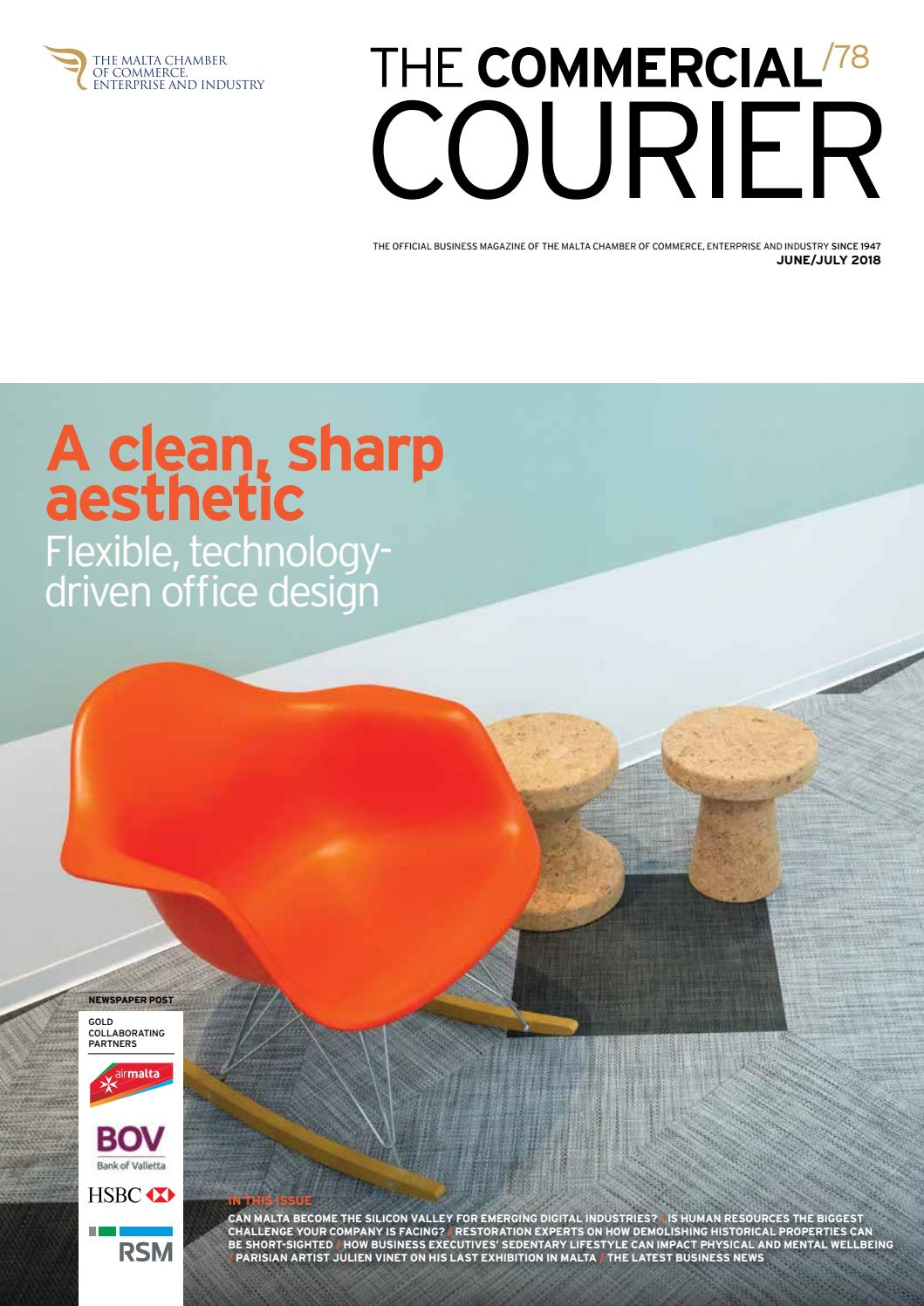 0f04e0893c0a The Commercial Courier June July 2018 by Content House Group - issuu