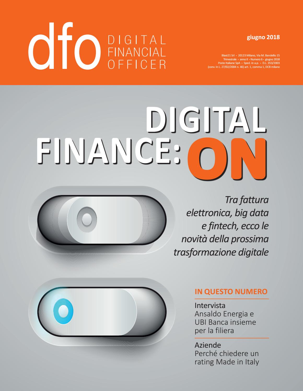 Dfo Digital Financial Officer Giugno 2018 By Aziendabanca Issuu