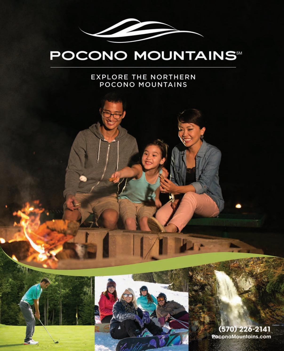 2018 Northern Pocono Mountains Travel Guide By Koas Masker Mr Visitors Bureau Issuu