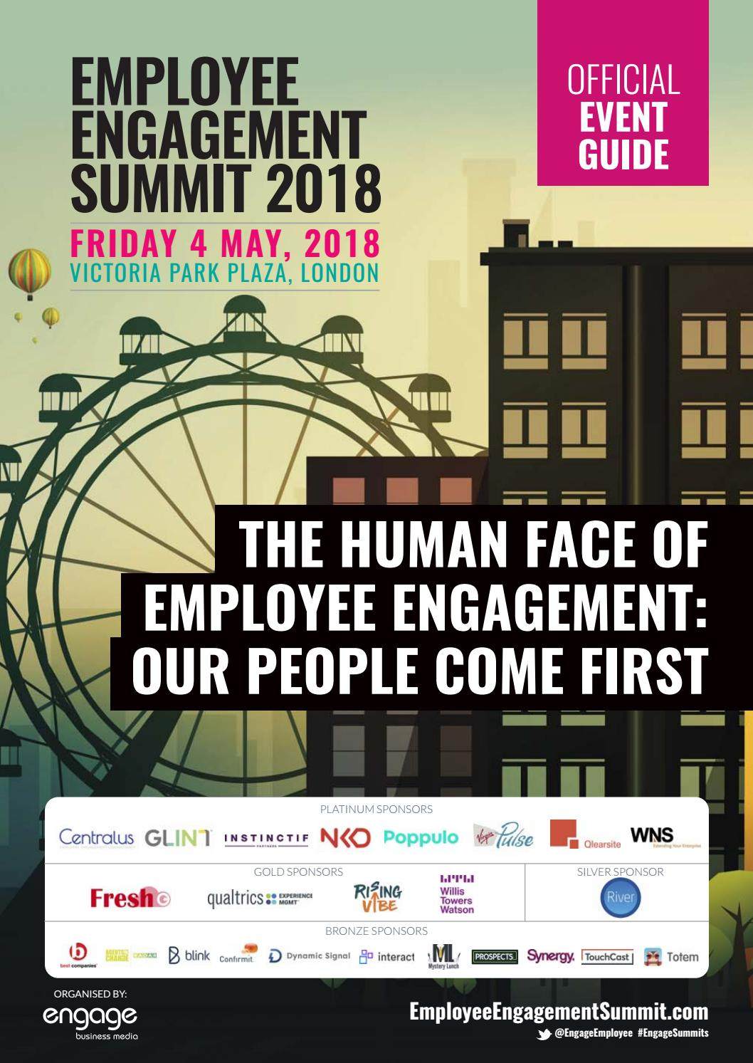 2018 Employee Engagement Summit Event Guide by Engage