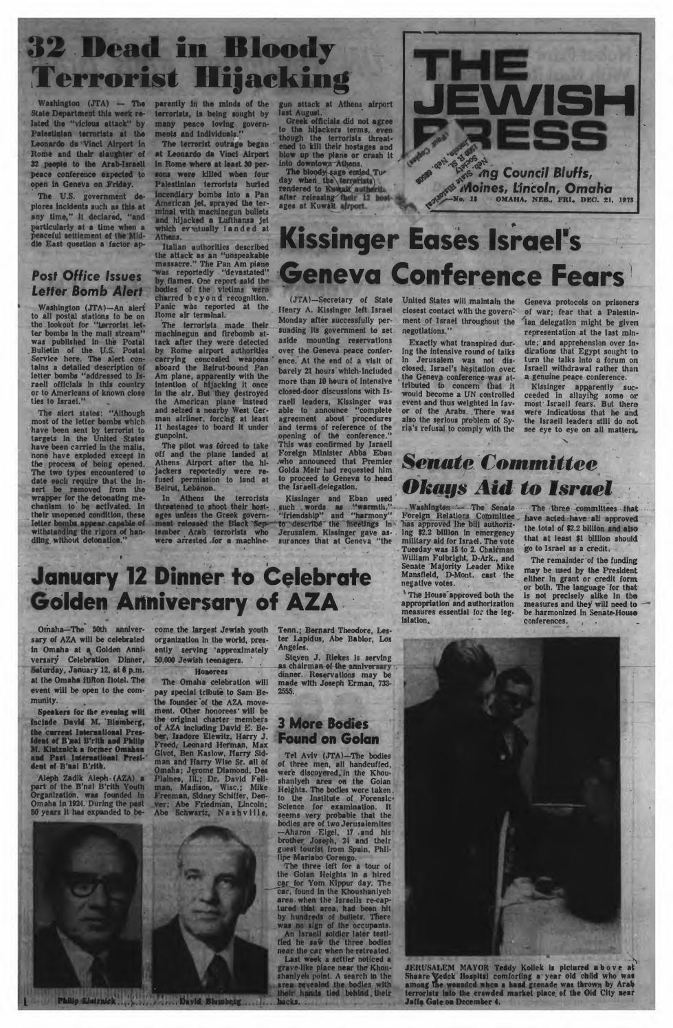 December 21 1973 By Jewish Press Issuu