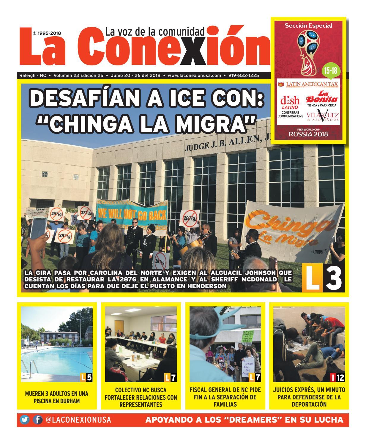 6ac2caf3a La Conexión 2018-06-20 by La Conexion USA - issuu