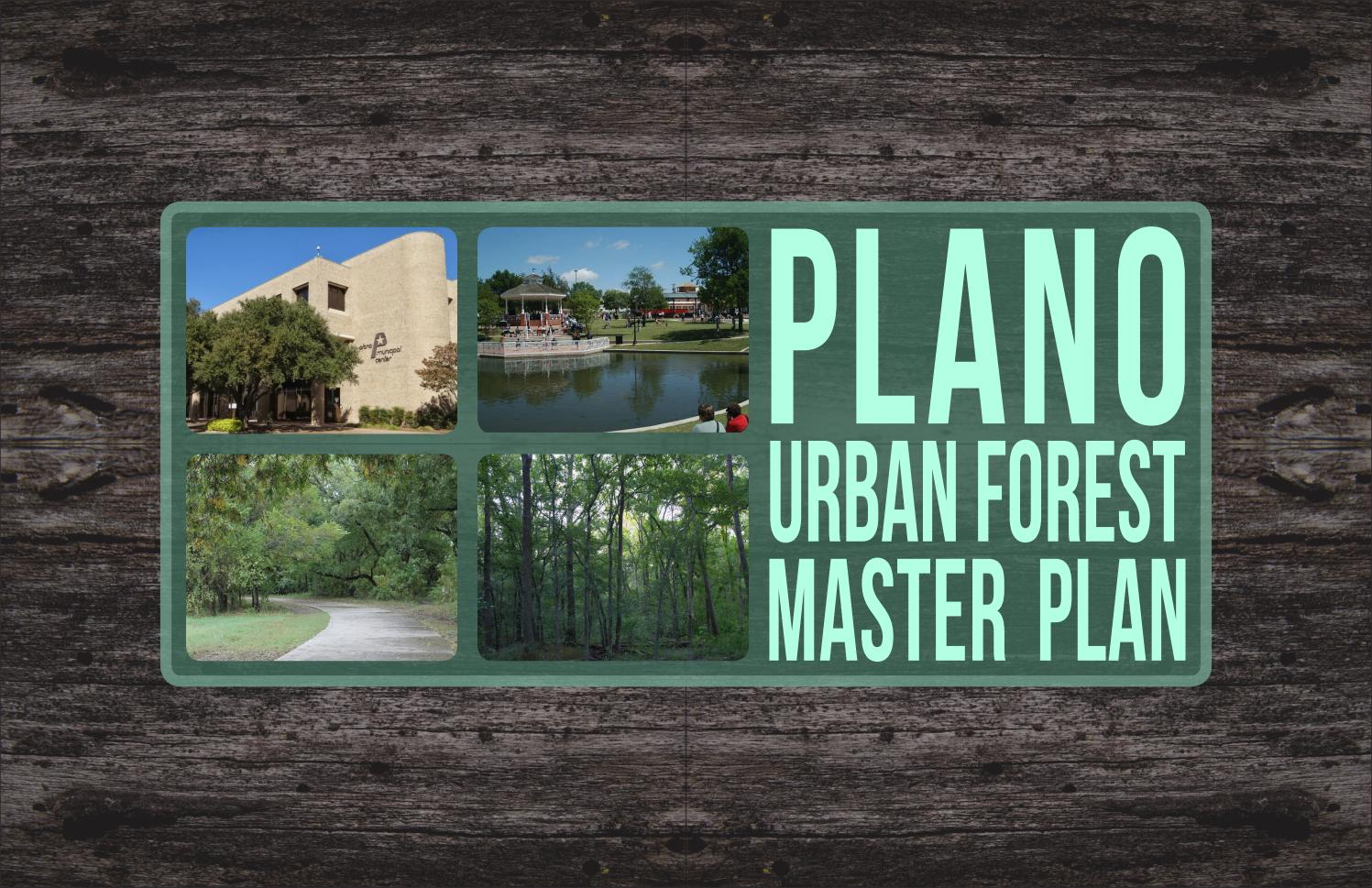 Plano Parks And Recreation Urban Forest Master Plan 2018 By Plano