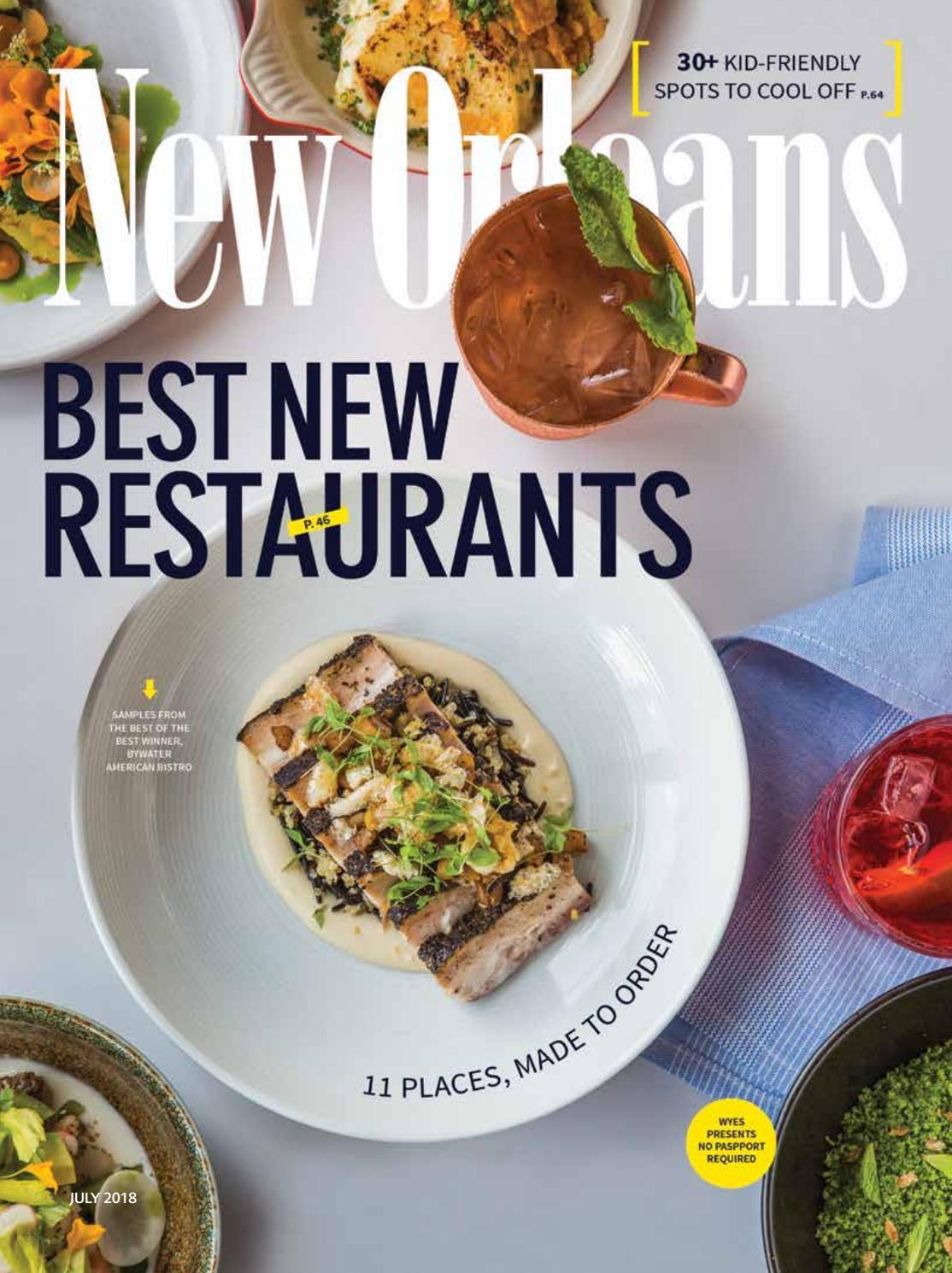 New Orleans Magazine July 2018 By Renaissance Publishing Issuu