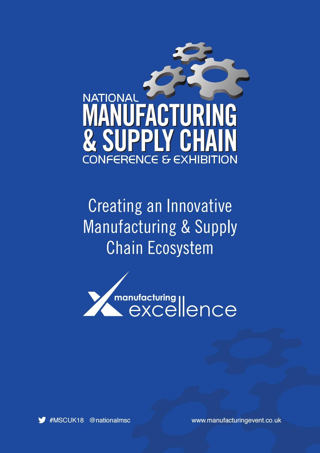 National manufacturing & supply chain uk brochure 21 by Colin ...