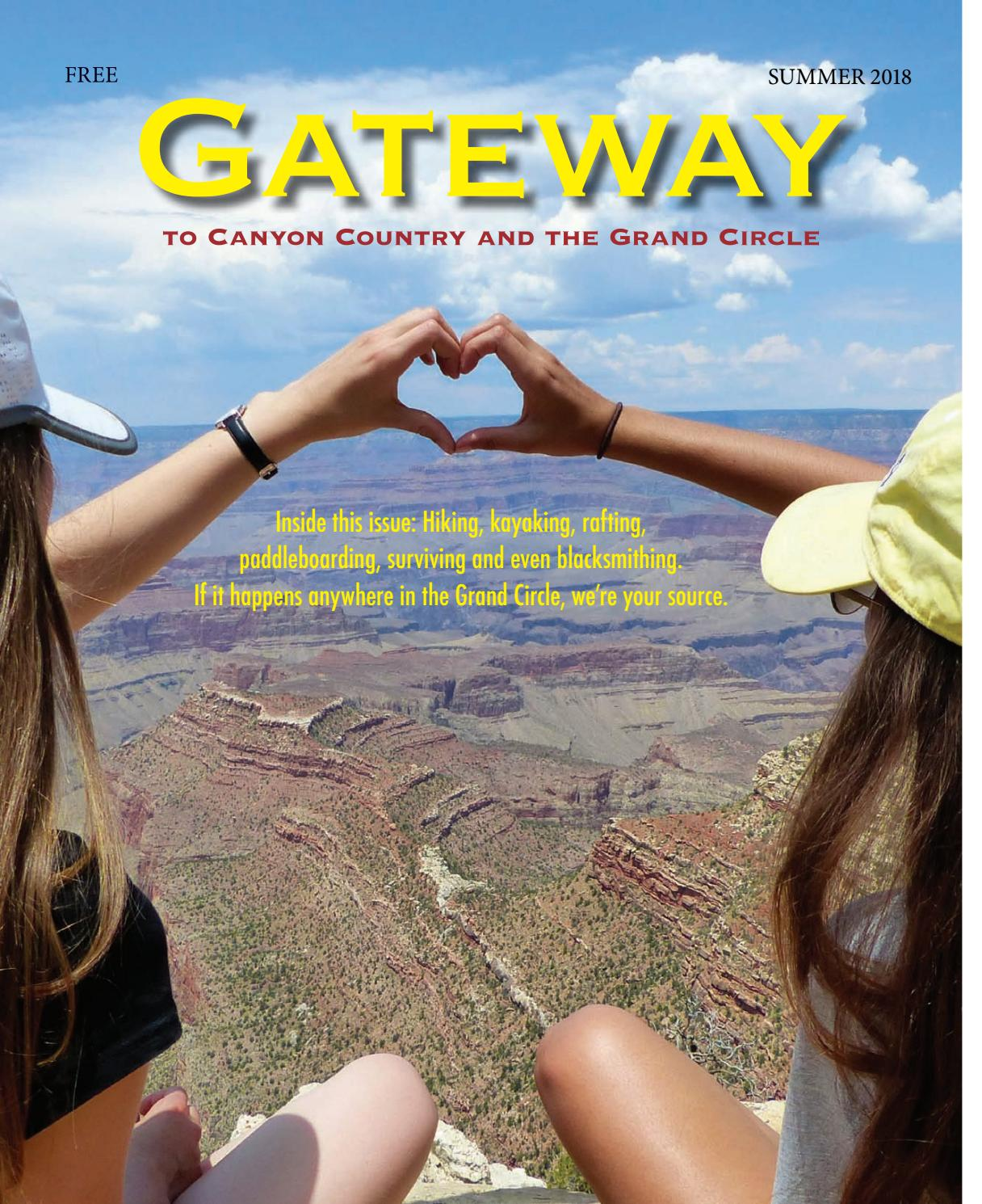 Gateway, summer 2018 by Lake Powell Chronicle - issuu