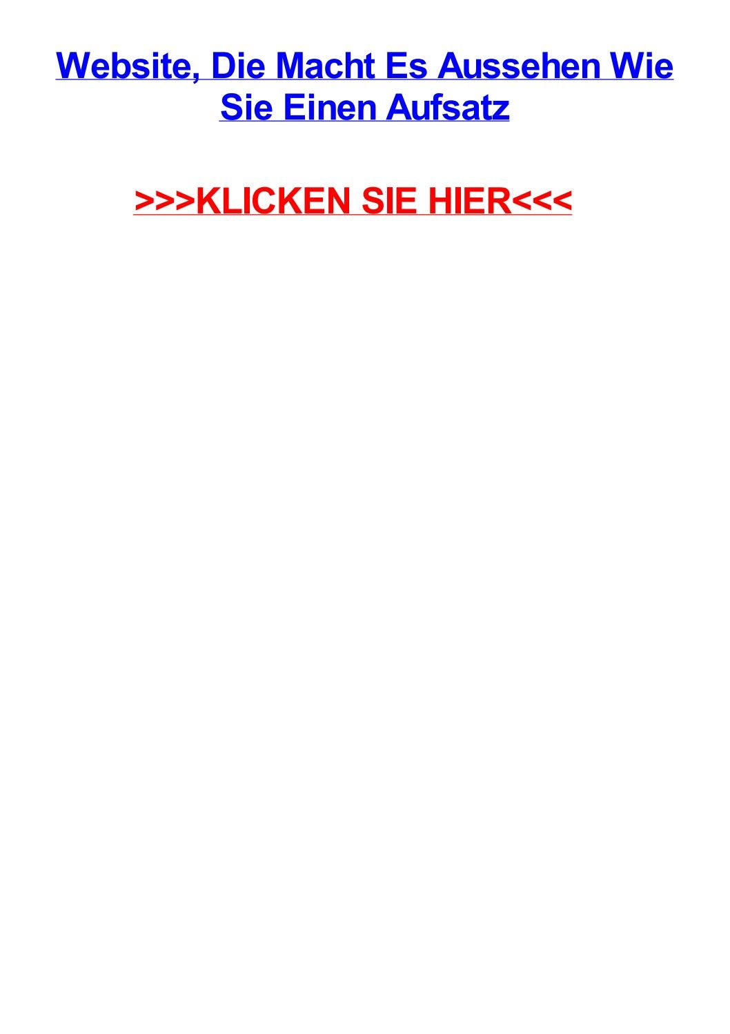Website die macht es aussehen wie sie einen aufsatz by jenniferijzpq ...
