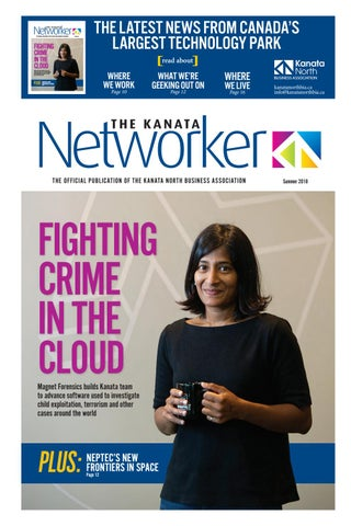 Page 1 of The Kanata Networker Summer edition