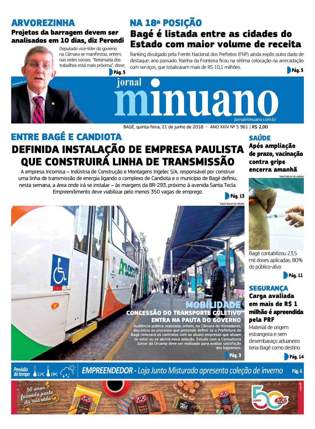 ca0b932a2 20180621 by Jornal Minuano - issuu