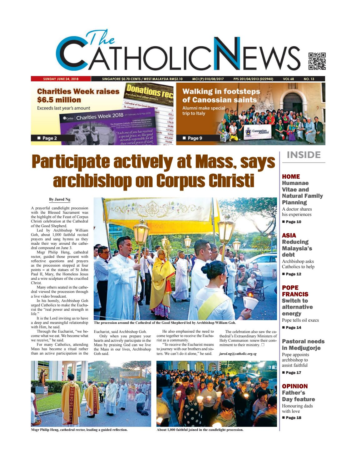 Catholic News Issue 13 2018 by CatholicNews - issuu