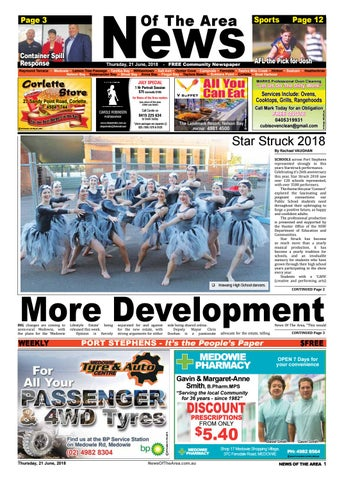 c691735403445 Medowie news of the area 21 june 2018 by News Of The Area - issuu