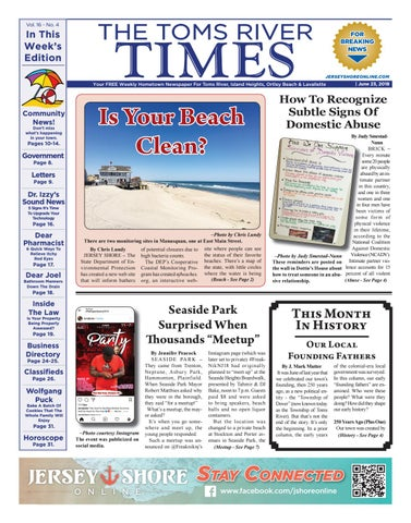 5f3eabfe1be 2018-06-23 - The Toms River Times by Micromedia Publications Jersey ...