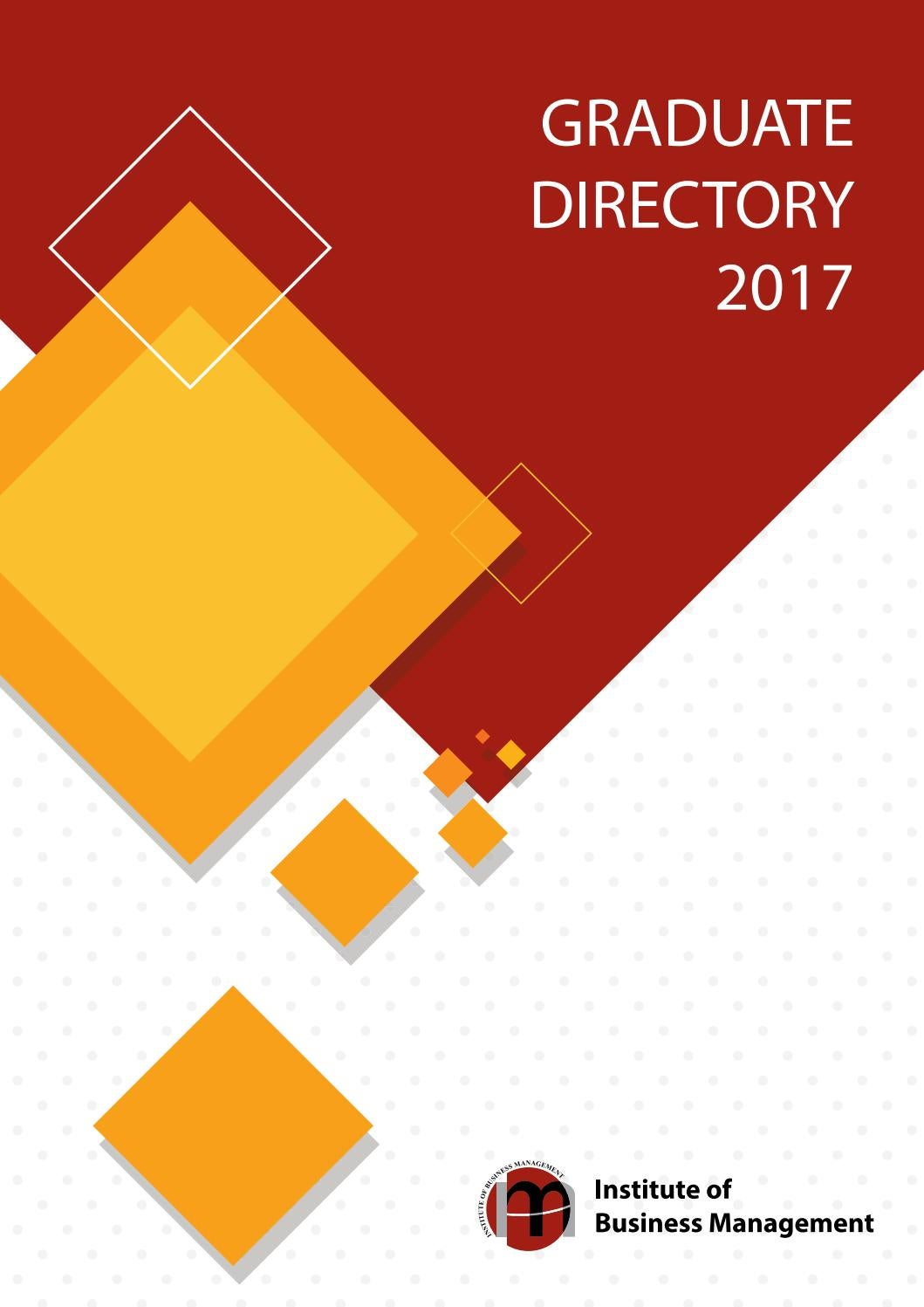 graduate directory 2017 by iobm