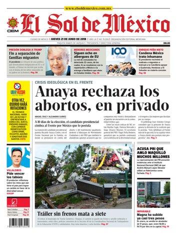 542866427 El Sol de México 21 de junio 2018 by El Sol de México - issuu