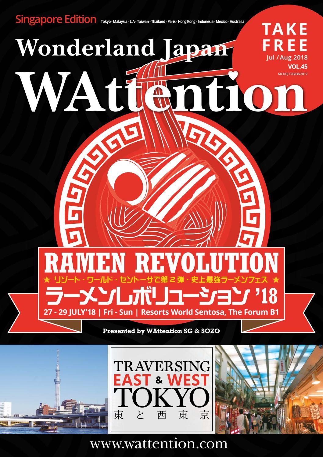 WAttention Singapore Vol  45 by WAttention - issuu