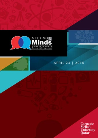 Meeting of the Minds, 2018 by Carnegie Mellon University in