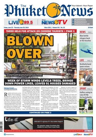 The Phuket News 22 June 2018 by The Phuket News - issuu