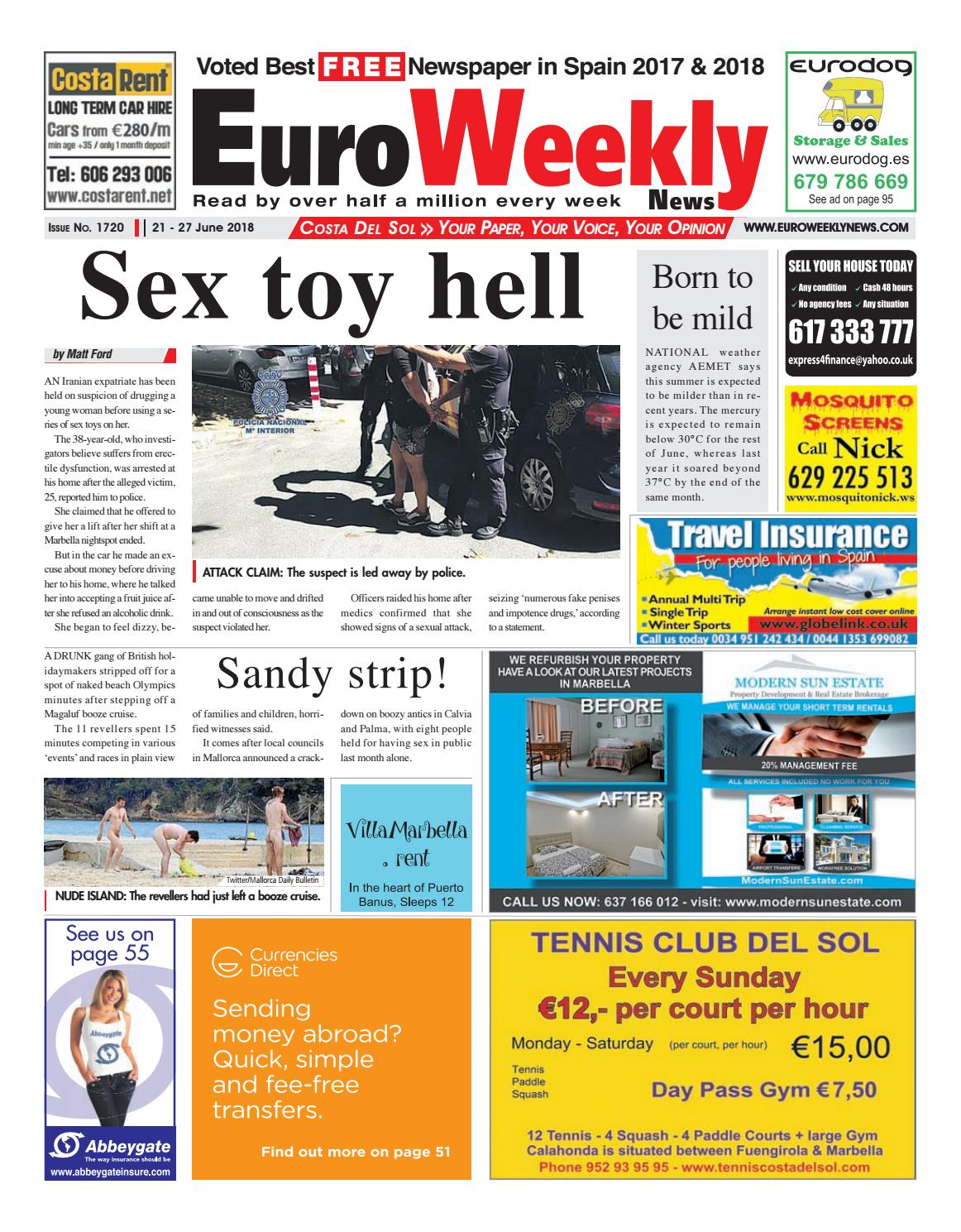 452031c3703e Euro Weekly News - Costa del Sol 21 - 27 June 2018 Issue 1720 by ...
