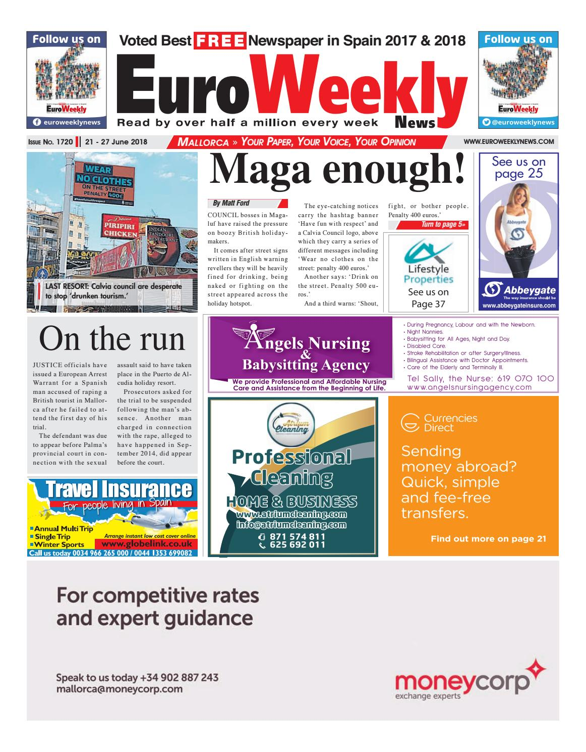 Euro Weekly News - Mallorca 21 - 27 June 2018 Issue 1720 by ...