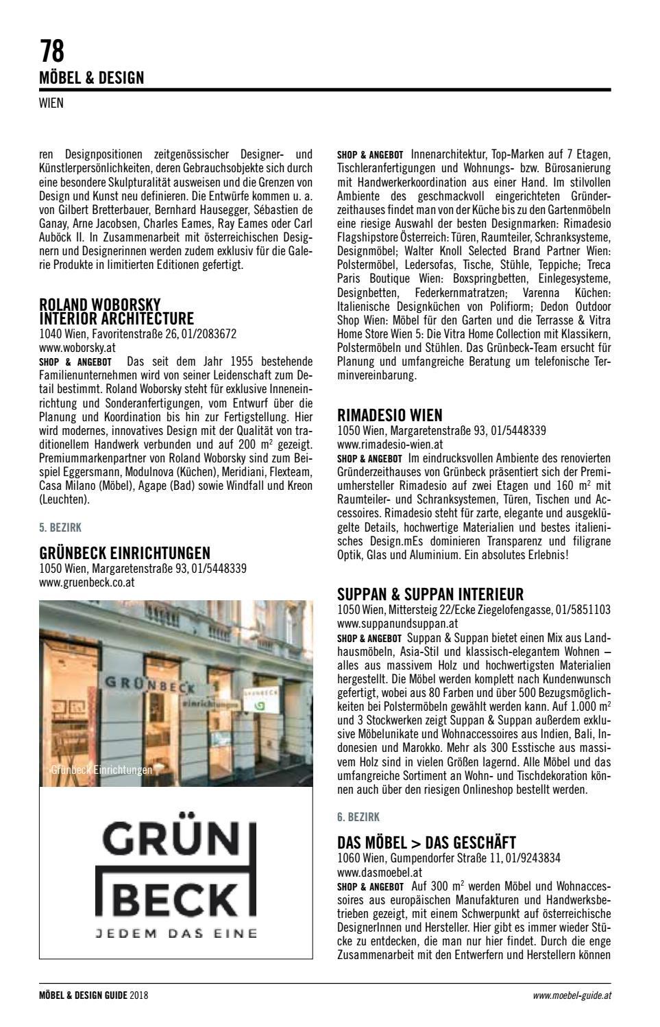 möbel & design guide 2018 | vebuka