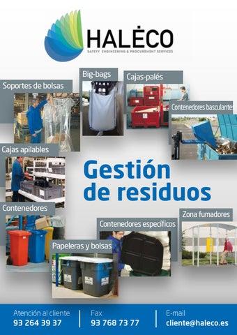 55e26f674 Catalogo de Gestión de Residuos | Haleco Iberia by Haleco Iberia - issuu