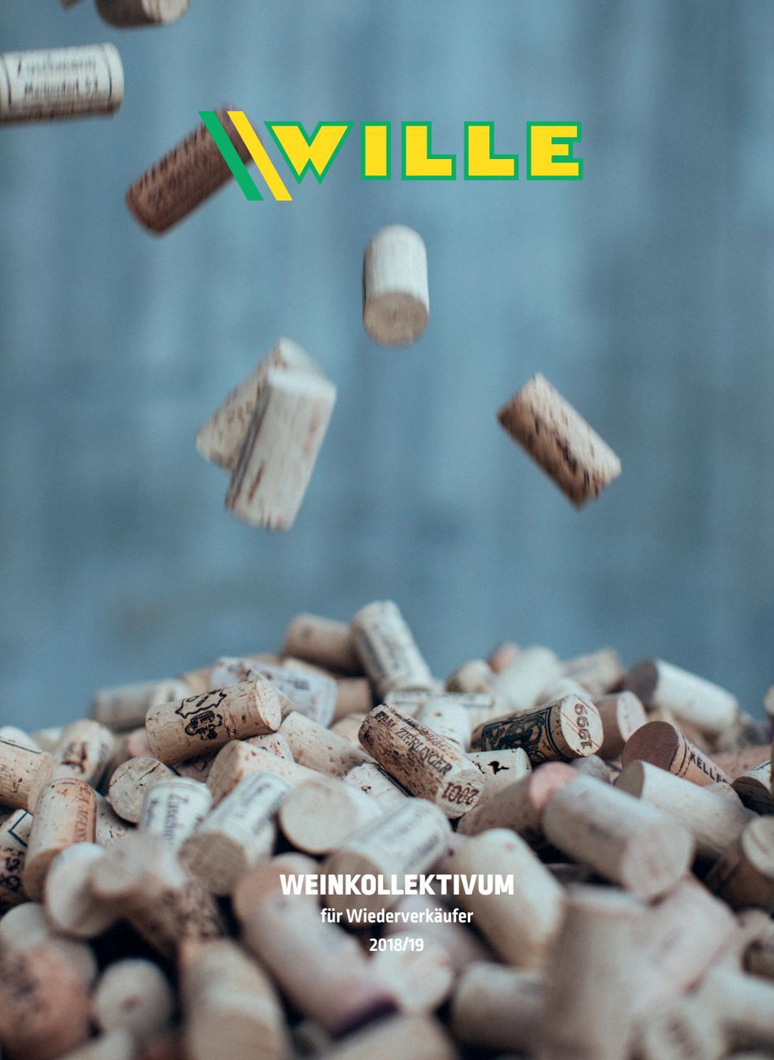 GETRÄNKE WILLE – Weinkollektivum 2018/19 by Werbezimmer - issuu