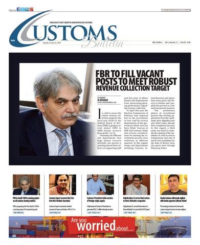 Friday, 22 June 2018 by customs bulletin - issuu