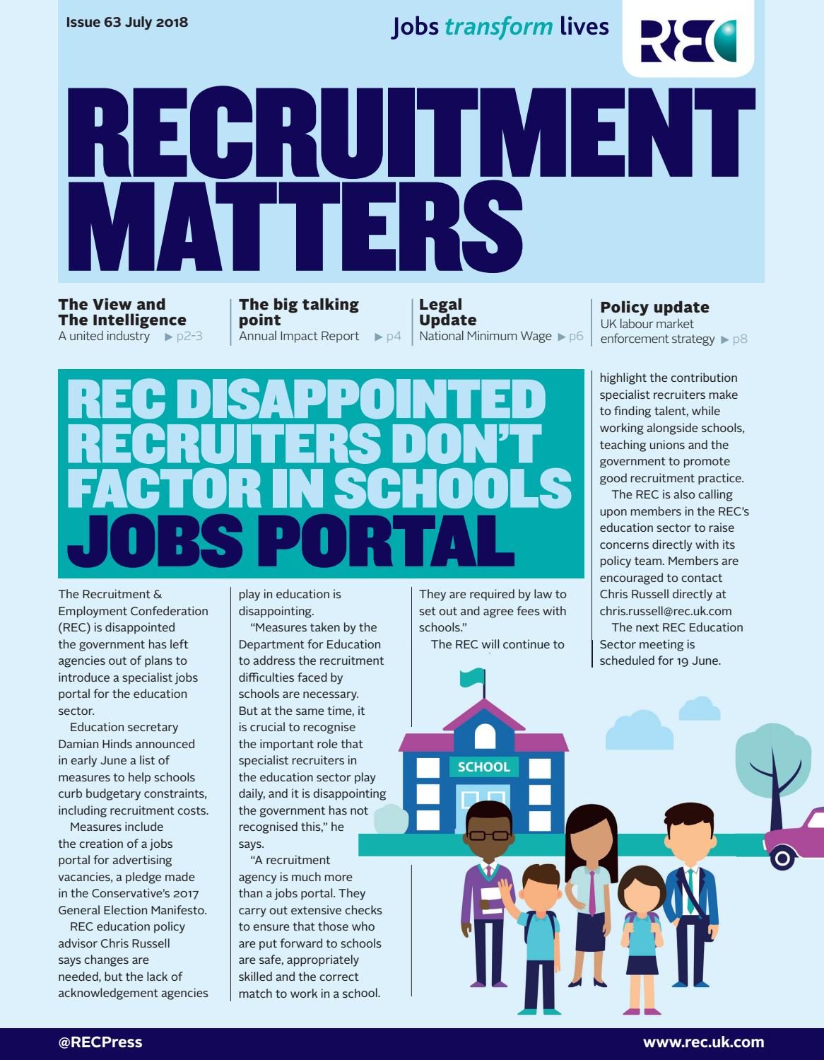 Recruitment Matters - July 2018 by Redactive Media Group - issuu