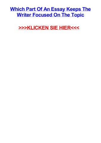 essay deutsch musterlösung